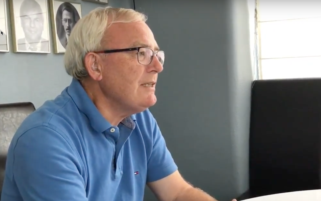 B.93 TV interview: Jørgen Ritnagel