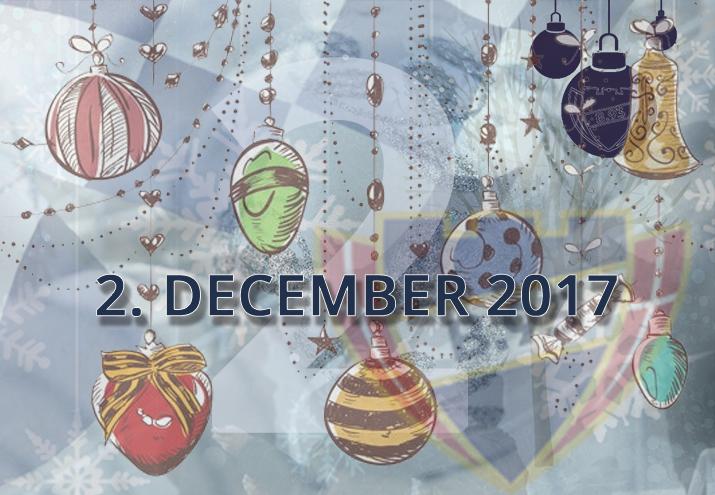 B.93 julekalender – 2. december 2017