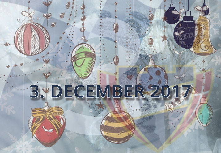 B.93 julekalender – 3. december 2017