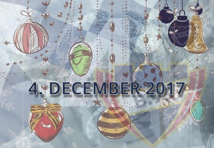 B.93 julekalender – 4. december 2017