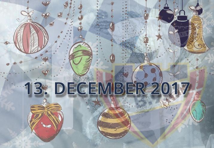 B.93 julekalender – 13. december 2017