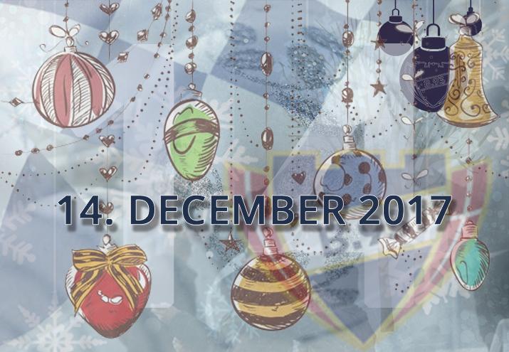 B.93 julekalender – 14. december 2017