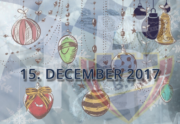 B.93 julekalender – 15. december 2017