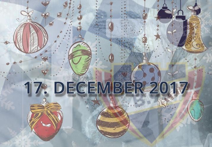 B.93 julekalender – 17. december 2017