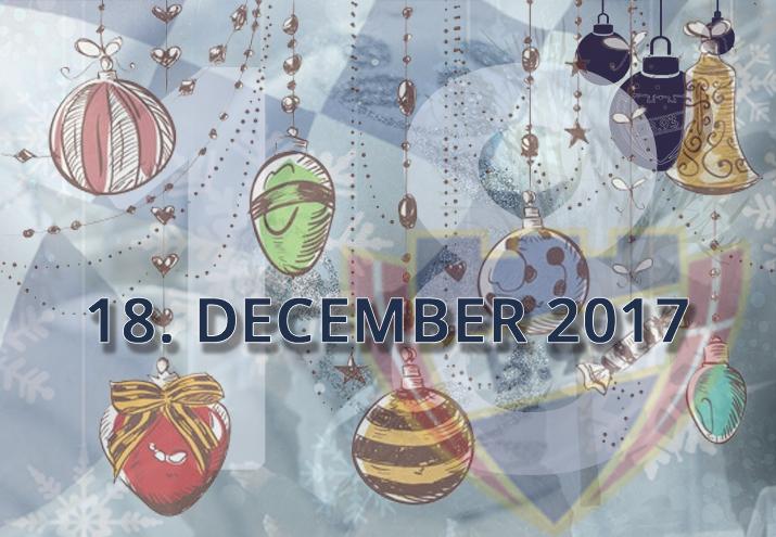 B.93 julekalender – 18. december 2017