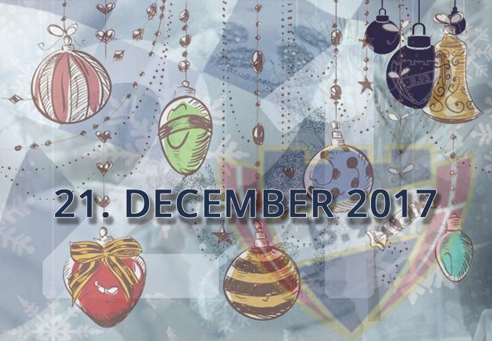 B.93 julekalender – 21. december 2017