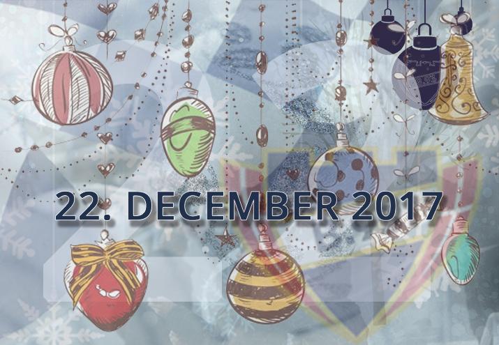 B.93 julekalender – 22. december 2017