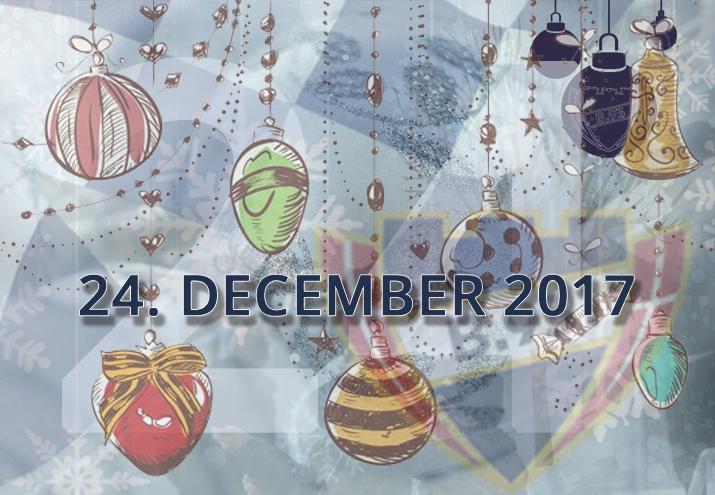 B.93 julekalender – 24. december 2017
