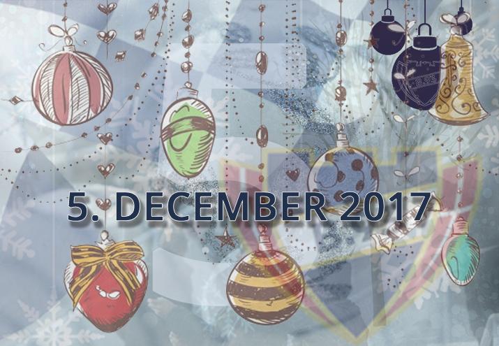 B.93 julekalender – 5. december 2017