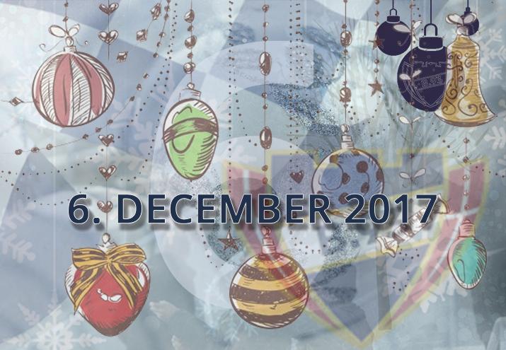 B.93 julekalender – 6. december 2017