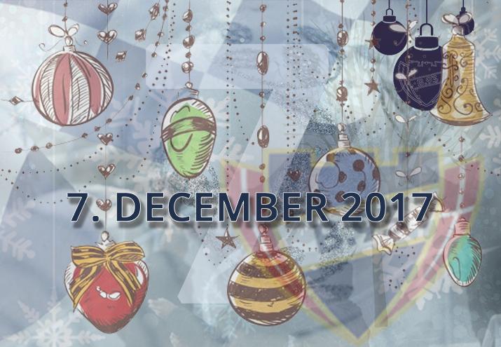 B.93 julekalender – 7. december 2017