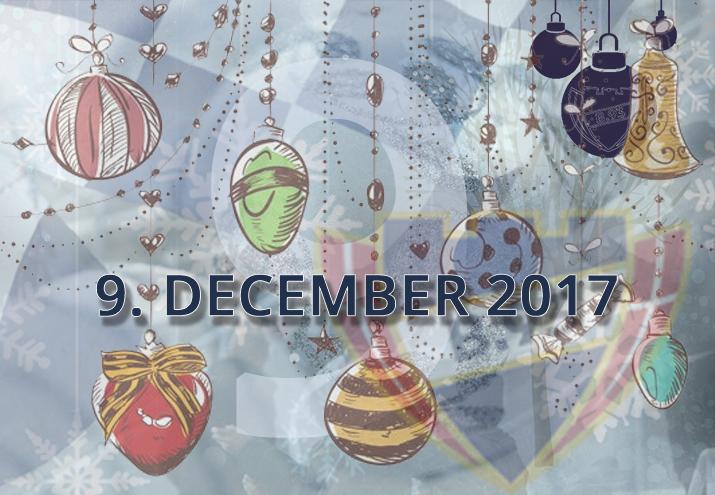 B.93 julekalender – 9. december 2017