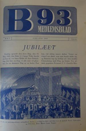 ccf2d5b6 Medlemsbladet indeholdt af gode grunde mest om det netop overståede  jubilæum. Forsidebilledet er fra aftenfesten i Tennishallen. Fra  morgenstunden var der ...
