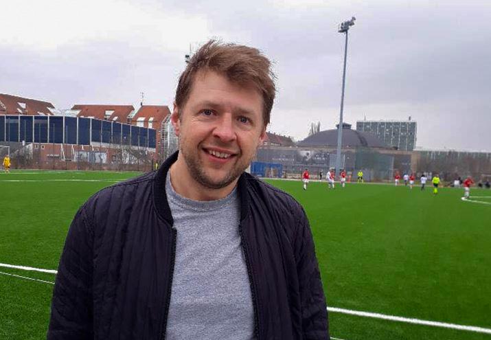 Max Riis Christensen i 93'eren