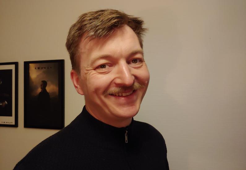 Dave Michael Grønvall er ugens profil